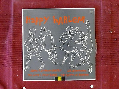 25 cm Happy Harlem (James P.Johnson Quartet,Lil Armstrong,Lion's Jazz Band)