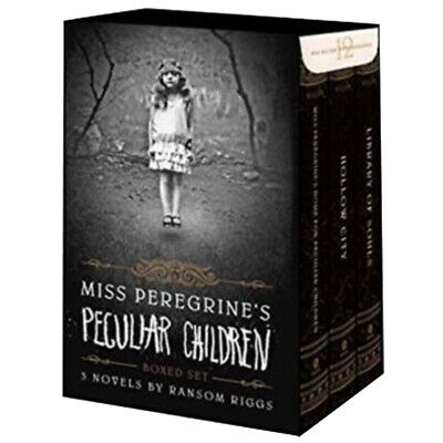 Ransom Riggs Miss Peregrine's Peculiar Children Collection 3 Books Box Set NEW