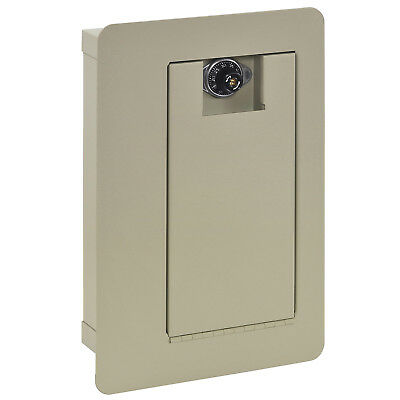 Buddy Products Business Card Holder Combination Lock Wall Safe