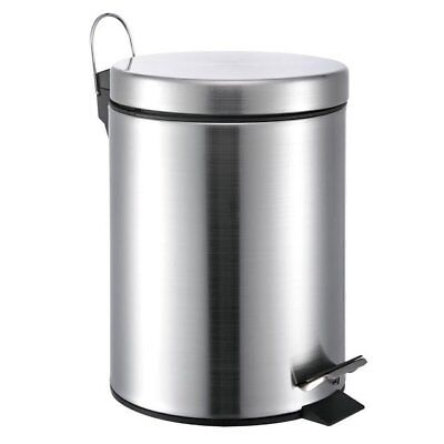 Wee's Beyond Stainless Steel 1.3 Gallon Step On Trash Can