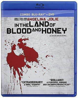 In the Land of Blood and Honey (Blu-ray + DVD) by Angelina Jolie NEW
