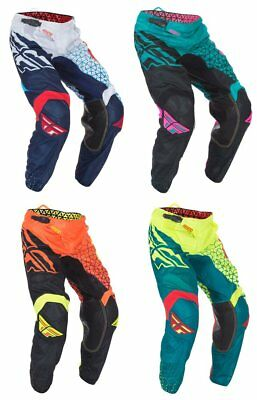 Fly Racing Mens Kinetic Mesh Trifecta Pants