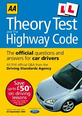 AA Driving Test Theory and Highway Code (AA Driving Test Series) Paperback Book