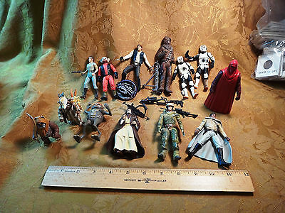 Miscellaneous Star Wars Figures Lot A *Free S&H USA*