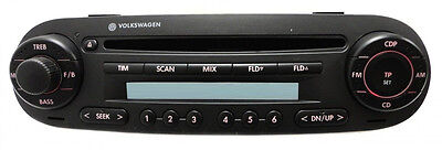 VW Beetle CD MP3 radio. OEM factory Delco stereo. NEW
