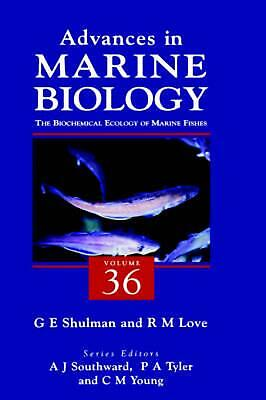 The Biochemical Ecology of Marine Fishes by Southward (English) Hardcover Book F