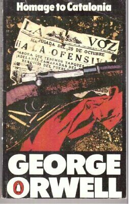 Homage to Catalonia by Orwell, George Paperback Book The Cheap Fast Free Post