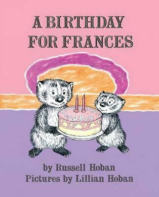 A Birthday for Frances by Russell Hoban (English) Paperback Book Free Shipping!