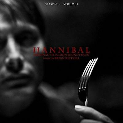Hannibal Season 1 Volume 1 (Black) Soundtrack - Brian Reitzell (NEW 2 VINYL LP)