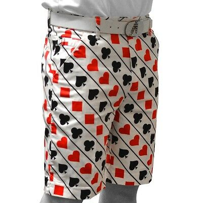 Royal and Awesome Novelty Golf Shorts (Fore of a Kind)