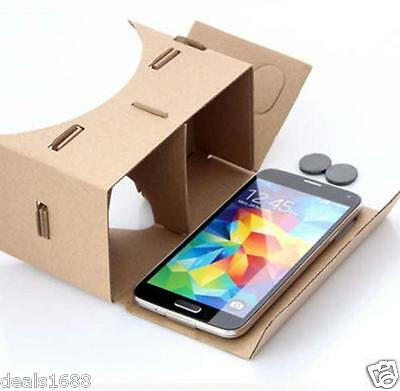 For Google Android IOS Cardboard 3D Vr Virtual Reality Glasses Valencia Quality