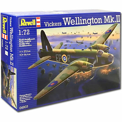 REVELL Vickers Wellington Mk.II 1:72 Aircraft Model Kit - 04903