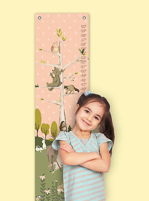Oopsy Daisy Woodland Pals Growth Chart