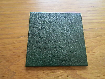 Recycled Leather Coasters Pack of 4 Size10 x 10cm Various colours. Made in UK