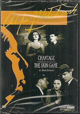 """DVD """"Chantage + The Skin Game""""  Hitchcock  NEUF SOUS BLISTER"""