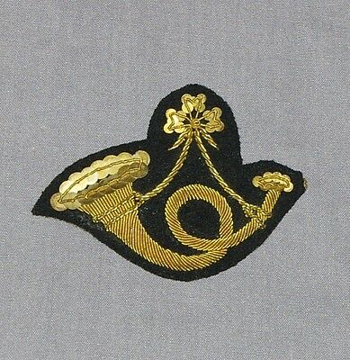 Infantry Officers' Coat Skirt or Militia Cap Insignia, Embroidered