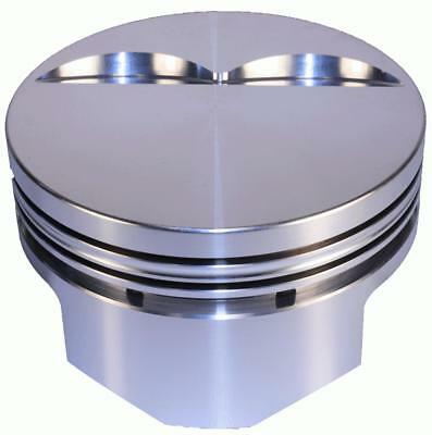 DSS Racing Pistons Forged Flat 4.030 in. Bore 383 Chevy Set of 8