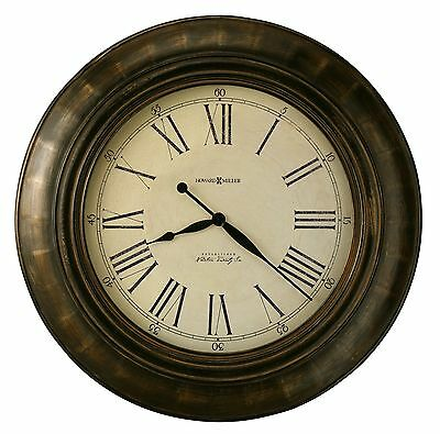 "Howard Miller - 625-618 New Over-Sized Gallery Wall Clock 'Brohman"" 625618"