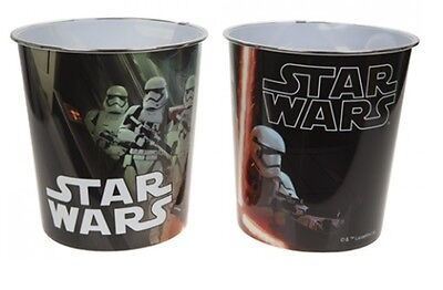 Star Wars Childrens Kids Paper Waste Rubbish Bedroom Bin Dustbin