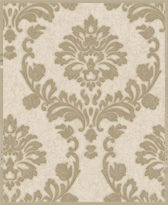 "Graham & Brown Essence Dynasty 33' x 20"" Damask Wallpaper Roll"