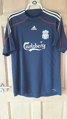 Liverpool Fc 2009-10 Official Adidas Away Shirt Size Adult Xl