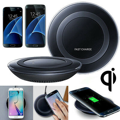 For Samsung Galaxy S6,S7,S7 Edge QI Wireless Fast Charger Charging Pad Plate Mat
