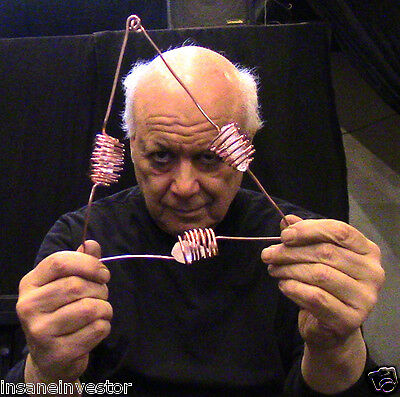 E.J. Gold -- GIANT POWERFUL CRYSTAL ANCIENT STYLE ATLANTEAN COPPER HEALING TRIAD
