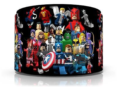 "Lego Marvel Superheroes Ceiling Light Lamp Light Shade 11""  Free  P & P"