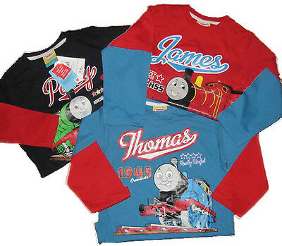 Boys Thomas and Friends 3 Pack Long sleeved Tops 18-24 Months only