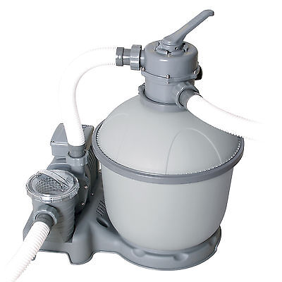 Bestway Flowclear Sand Filter for Swimming Pools 5,687L/h (1,500 gal/h) #58404