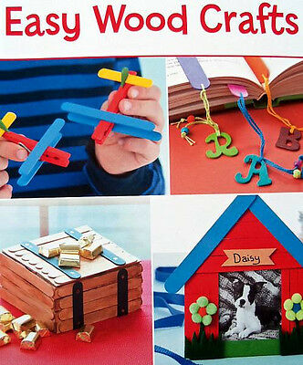 Easy Wood Crafts  Leisure Arts  Leaflet  For Children or Adults