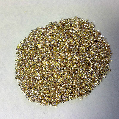 Brass Crimp Beads End / Stopper / Tube - Nickle Free Choice Of Size and Colour
