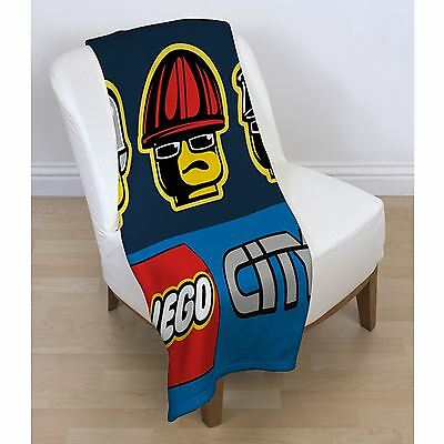 Lego City Heroes Official Throw Fleece Blanket