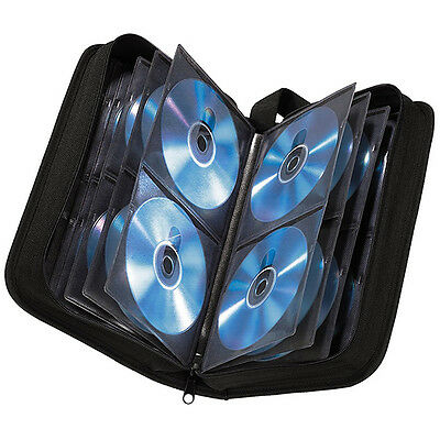 Hama CD / DVD / Blu-Ray Storage Case / Wallet (Holds 120 Discs) - Ref. 033833