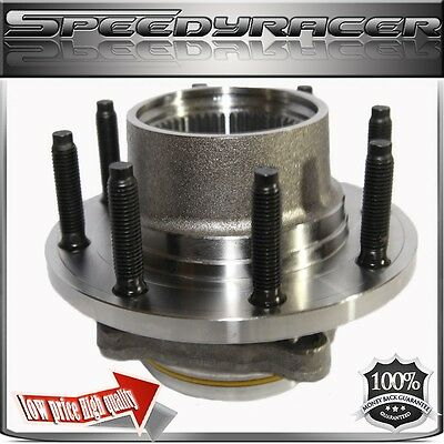 Wheel Hub &Bearing FRONT for 00-04 Ford F250/350 Super Duty SRW 4WD w/REAR ABS