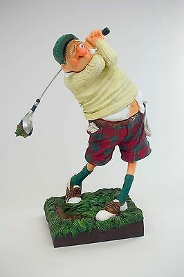 The Comic Art Of Guillermo Forchino Fore! The Golfer Figurine