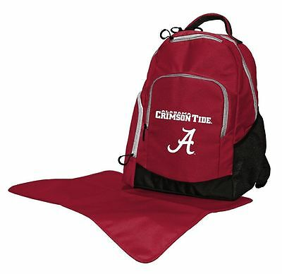 Lil Fan Alabama Diaper College Bag Backpack