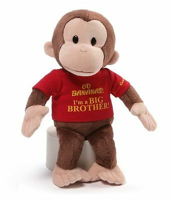 "Curious George 12"" Big Brother Plush Doll #4053811"