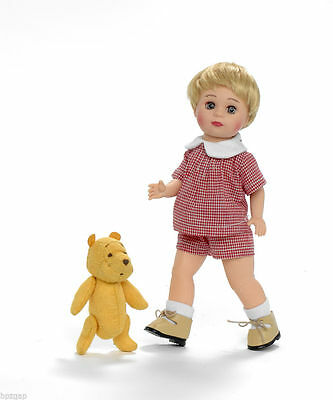 """Madame Alexander Christopher Robin 8"""" Jack and Classic Winnie the Pooh Doll"""