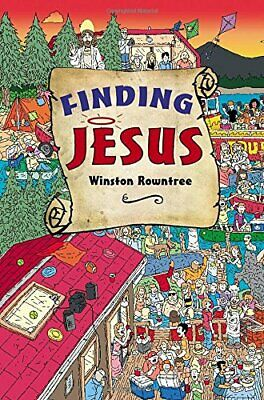 Finding Jesus by Rowntree, Winston Book The Cheap Fast Free Post