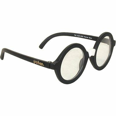 Harry Potter Glasses Black Plastic Tape Wizard Costume Adult Child Kids LICENSED