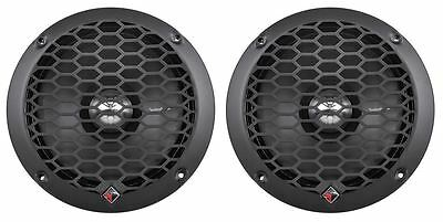 "(2) Rockford Fosgate PPS8-6 6"" 8-Ohm Punch 400W Car MidBass Driver Speaker"