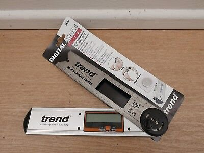 Trend 200Mm Aluminium Digital Angle Finder Daf/8