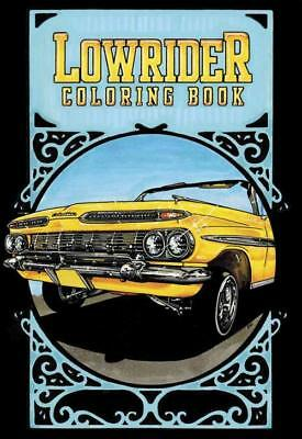 Lowrider Coloring Book - Oscar Nilsson (Paperback) New
