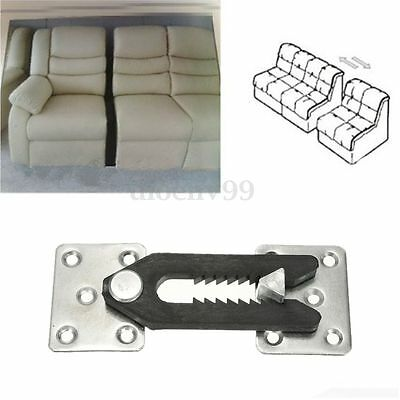 1/2/5pcs Sofa Sectional Furniture Couch Connector Plastic Bracket Snap UK
