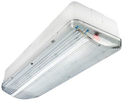 Emergency LED Bulkhead 3 Hour Fire Exit Sign Ceiling or Wall Mount 180 Minutes