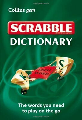 Scrabble Dictionary (Collins Gem) by Collins Dictionaries Book The Cheap Fast