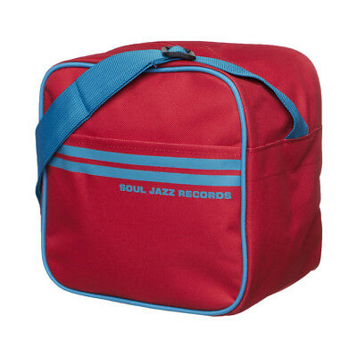 Soul Jazz Records - 7 Inch Record Bag Red / Blue