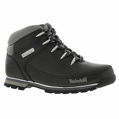 Timberland Euro Sprint 6200R Mens Black Leather Boots Size UK 8-11