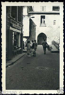 St-Jean pied de Port . cordonnerie centrale  . photo ancienne